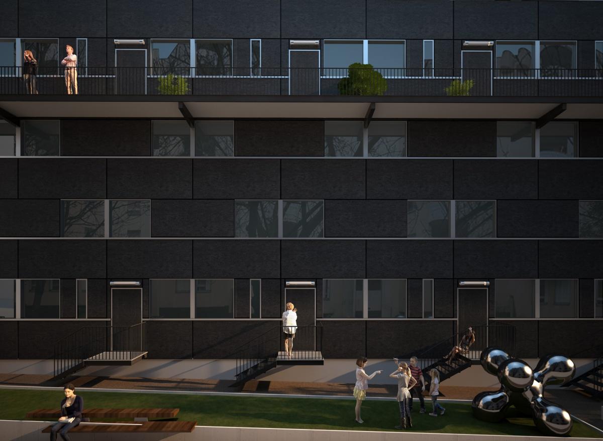 17 logements à Paris 19°