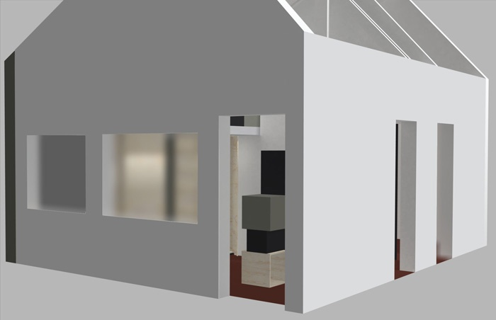 Création d'un espace privé dans un loft
