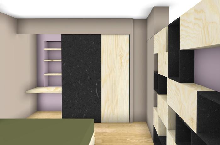 Rénovation et réorganisation d'un appartement classique : concept