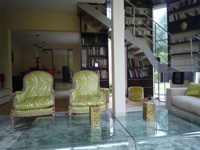 Agencement - Décoration maison à Jouy en Josas : séjour 2