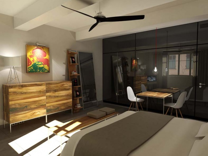 Appartement _ST : chambre_2