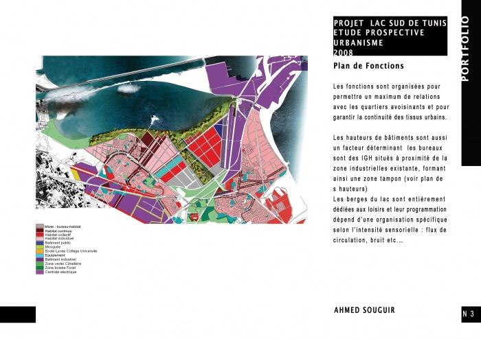 Projet urbain Lac sud de Tunis