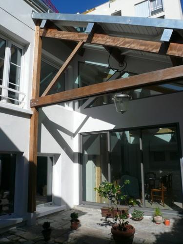 Surélévation en zinc Paris 20eme : PER 4 copie