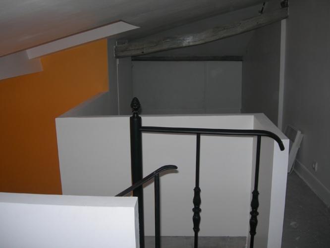 Aménagement de combles : Trémie vue d'en haut