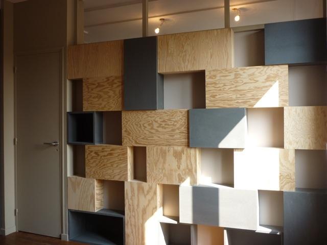 Rénovation et réorganisation d'un appartement classique : Chambre/ photo de chantier