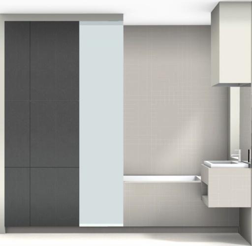 Rénovation d'un appartement classique : salle de bain