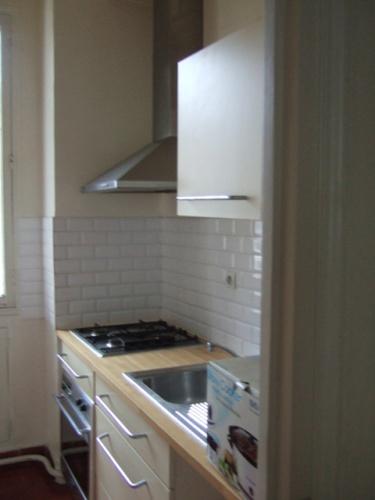 Rénovation d'un appartement classique : photos avant