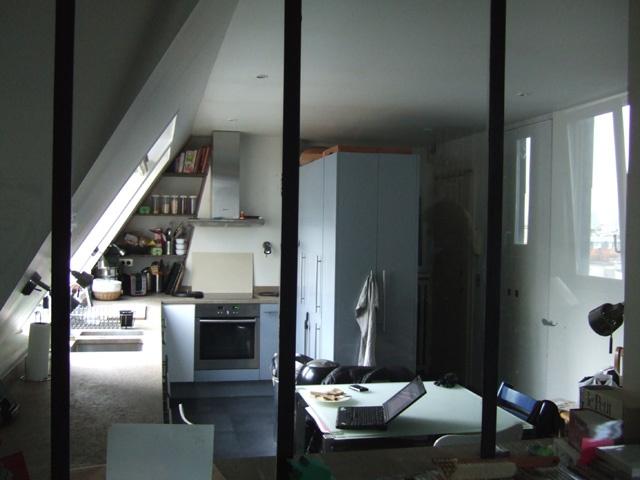 Renovation d'un loft sous les toits : avant travaux