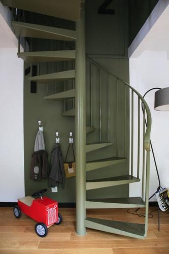 Rénovation complète d'une maison individuelle : Rez de chaussée/ escalier