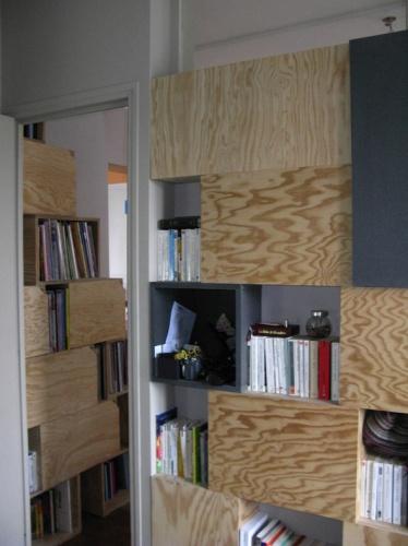 Rénovation et réorganisation d'un appartement classique : chambre adulte