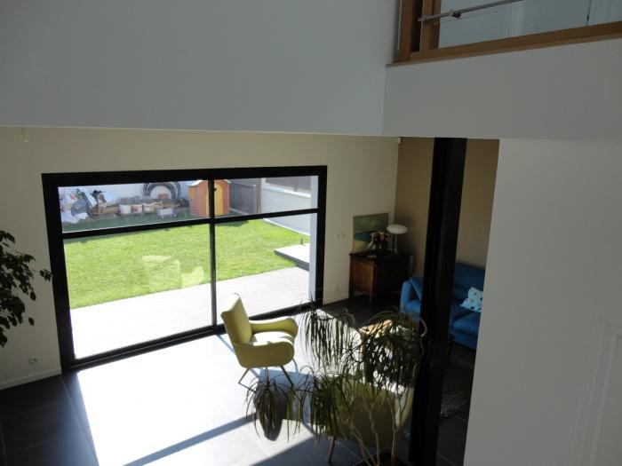 Extension et restructuration d'une maison de ville, Bois Colombes : 7-Bois Colombes-salon 4
