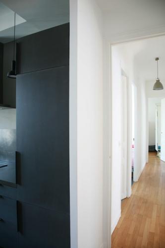 Rénovation d'un appartement classique : Couloir