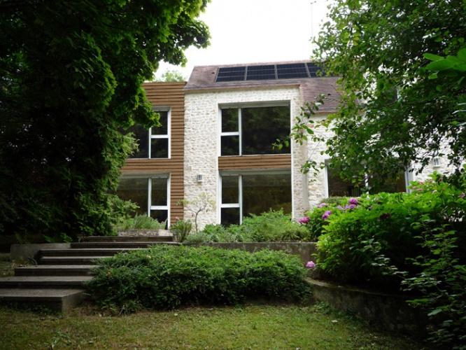 Renovation et agrandissement d'une maison : FaçadeSud