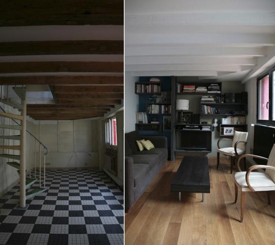 Rénovation complète d'une maison individuelle : Rez de chaussée / salon
