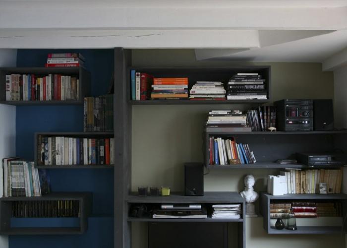 Rénovation complète d'une maison individuelle : Salon
