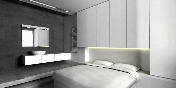 STUDIO  L : chambre