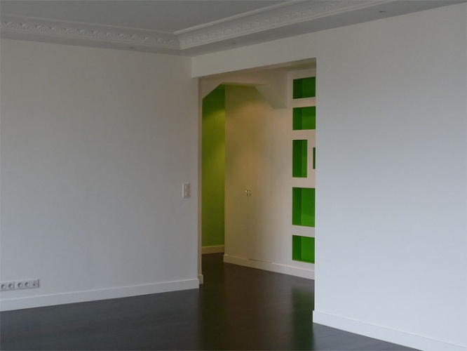 Rénovation d'un appartement à Neuilly Place du marché : neuilly7