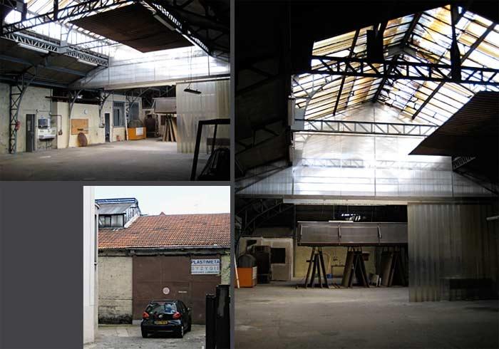 Atelier Sicard-Moslehi : avant