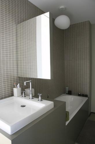 Loft Paris 19° : salle de bain