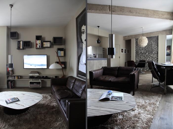 Aménagement intérieur d'un appartement d'esprit loft New-Yorkais : image_projet_mini_45792