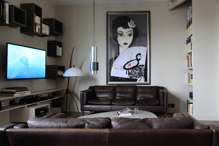 Aménagement intérieur d'un appartement d'esprit loft New-Yorkais : AT1