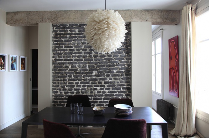 Aménagement intérieur d'un appartement d'esprit loft New-Yorkais : AT3