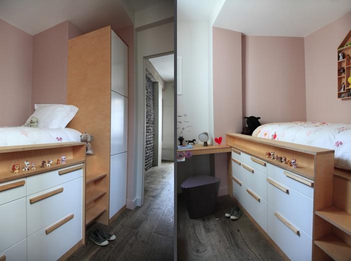 Aménagement intérieur d'un appartement d'esprit loft New-Yorkais : AT8