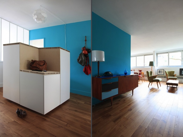 Rénovation complète et aménagement d'un appartement 70 : Ab1