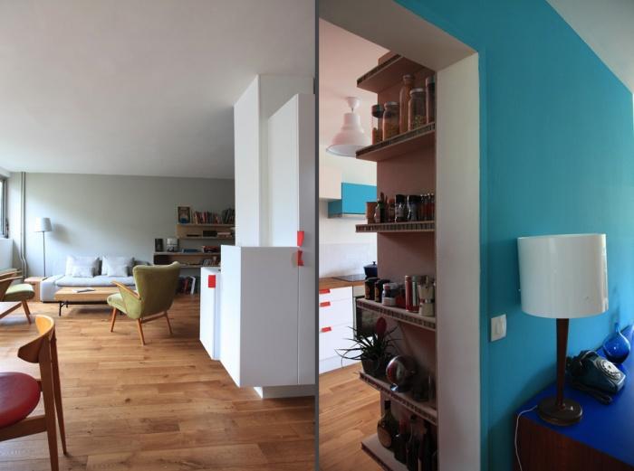 Rénovation complète et aménagement d'un appartement 70 : Ab4