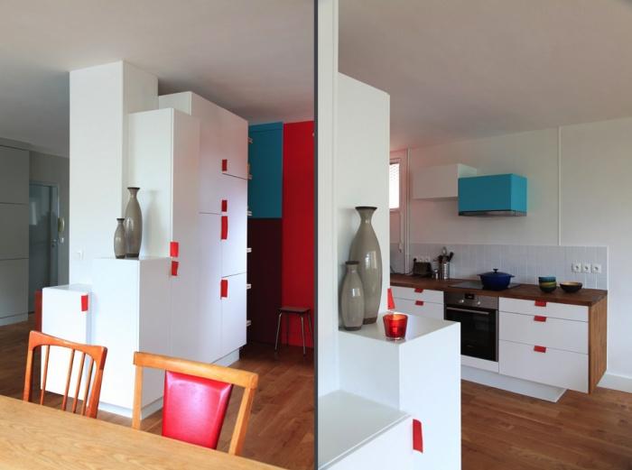 Rénovation complète et aménagement d'un appartement 70 : Ab5