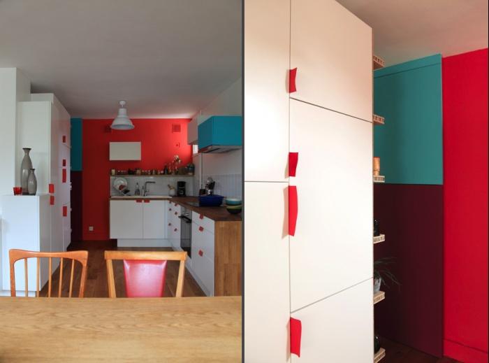 Rénovation complète et aménagement d'un appartement 70 : Ab6