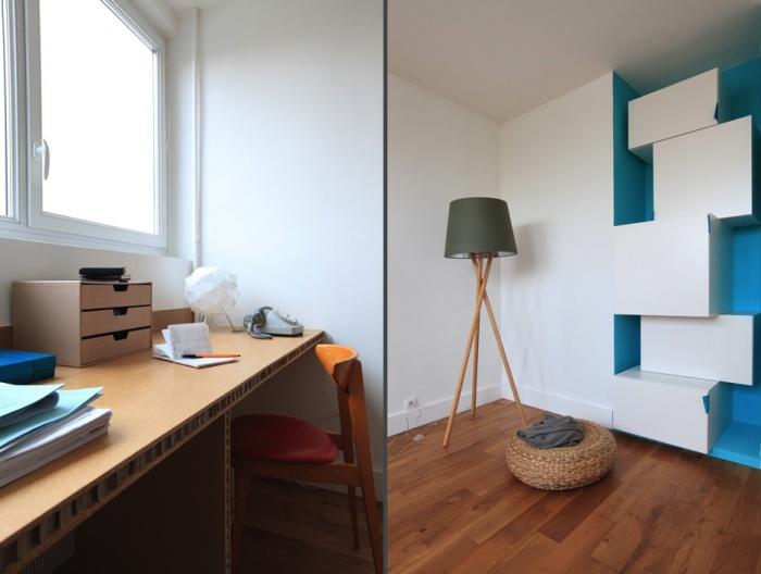 Rénovation complète et aménagement d'un appartement 70 : Ab9