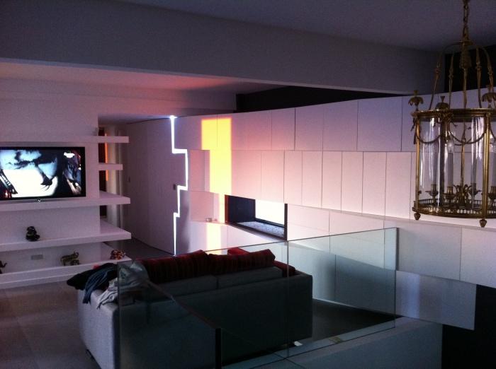 réaménagement d'un appartement de 150m2 : salon