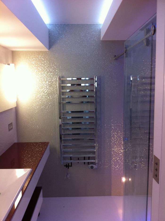 réaménagement d'un appartement de 150m2 : salle de bain