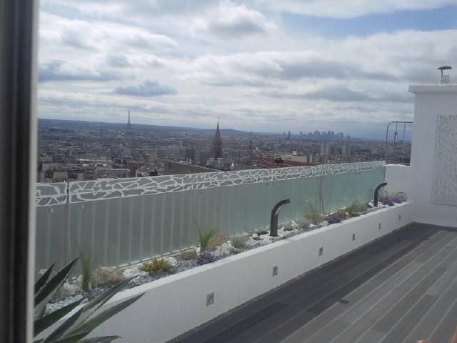 réaménagement d'un appartement de 150m2 : terrasse