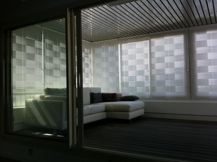 réaménagement d'un appartement de 150m2 : véranda