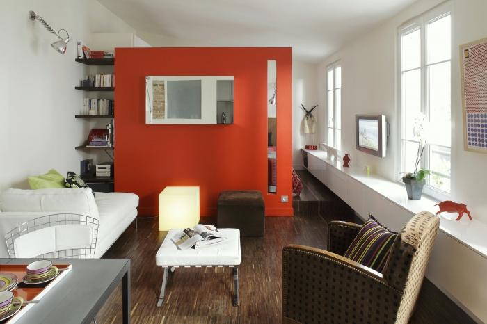 Unité d'habitation : salon