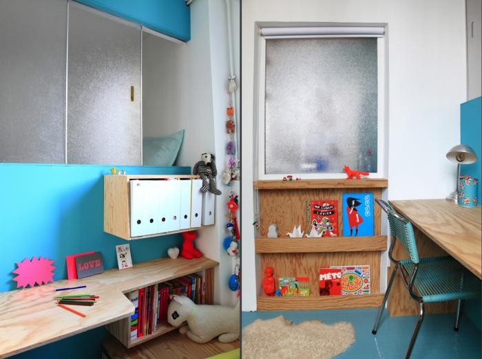 Aménagement d'un appartement de 55m2 pour 4 personnes : EetP15et16
