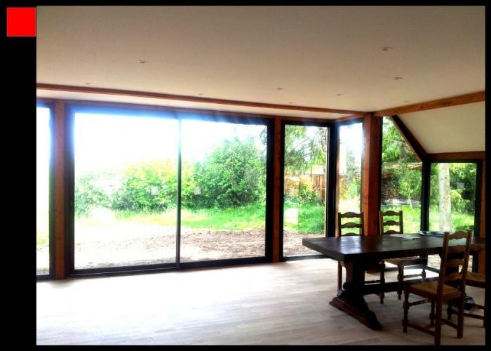 Extension Bois d'une maison traditionnelle : j