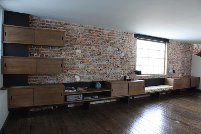 Renovation d'un loft sous les toits : Rangements4