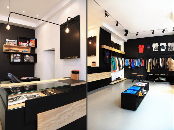 Aménagement intérieur d'une boutique de mode : shop2et3