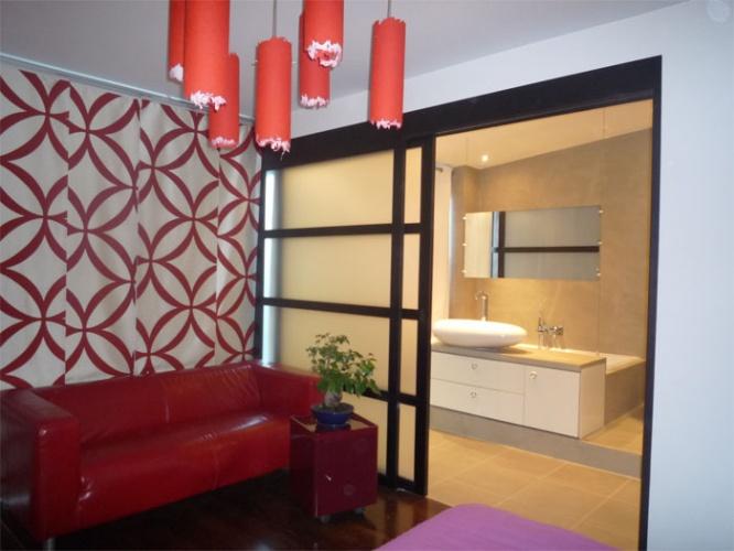 Maison Loft à Bagneux : chambre - vue3
