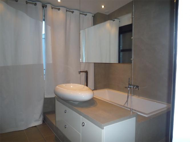 Maison Loft à Bagneux : salle de bain - vue1