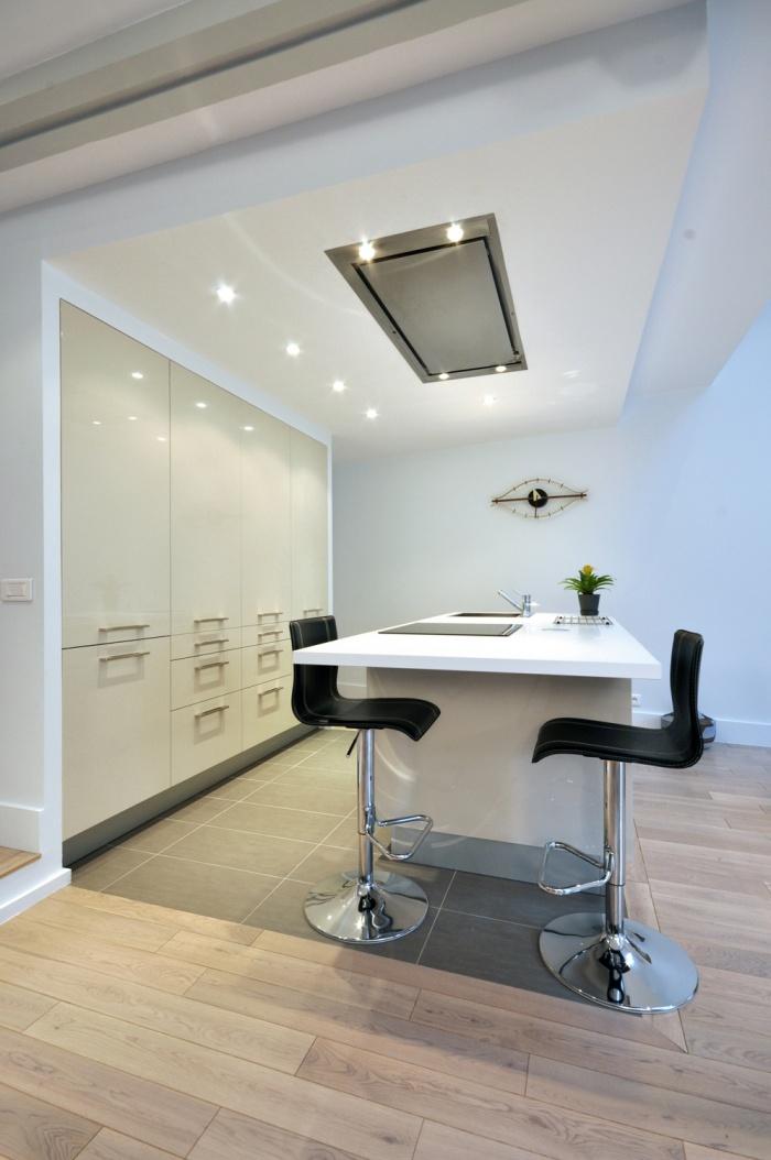 Rénovation d'une maison individuelle : Espace cuisine