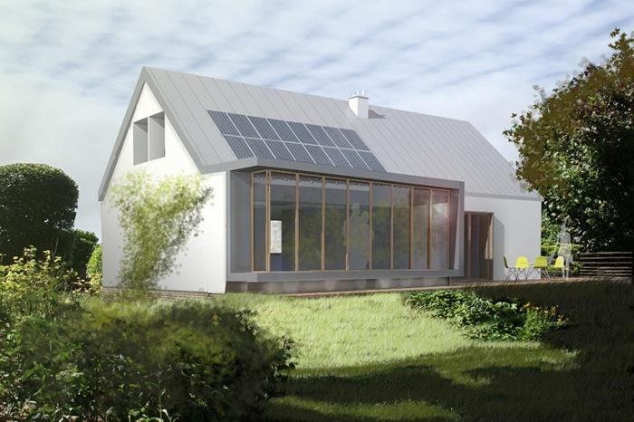 Extension et amélioration énergétique. : EMD_vue_sud