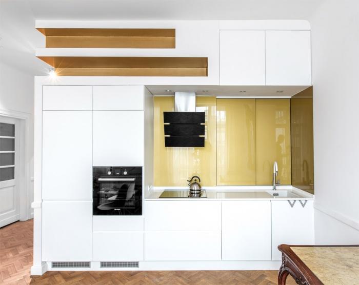 Appartement à Varsovie : Cuisine