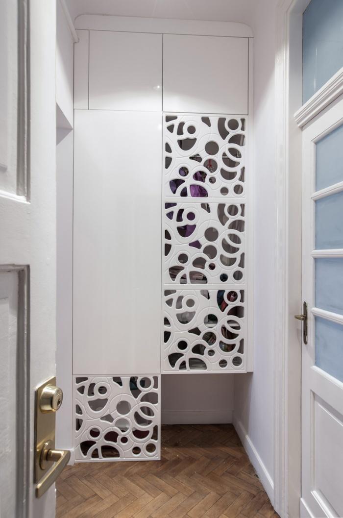 Appartement à Varsovie : Hall d'entrée