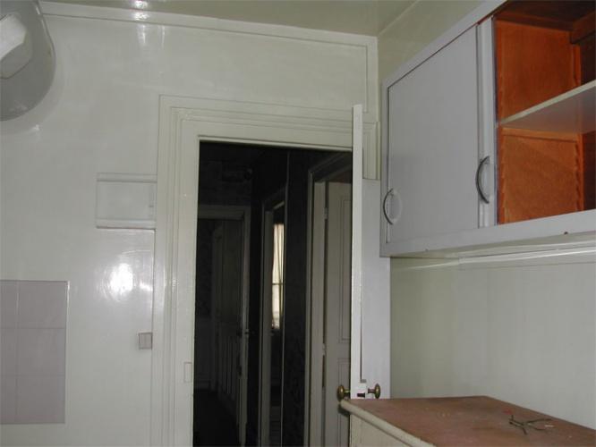Rénovation d'un appartement rue du Faubourg Saint Honoré : Avant travuax - vue2