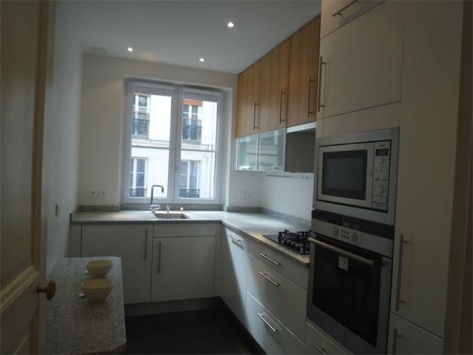 Rénovation d'un appartement rue du Faubourg Saint Honoré