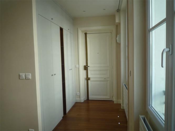 Rénovation d'un appartement rue du Faubourg Saint Honoré : Entrée après travaux